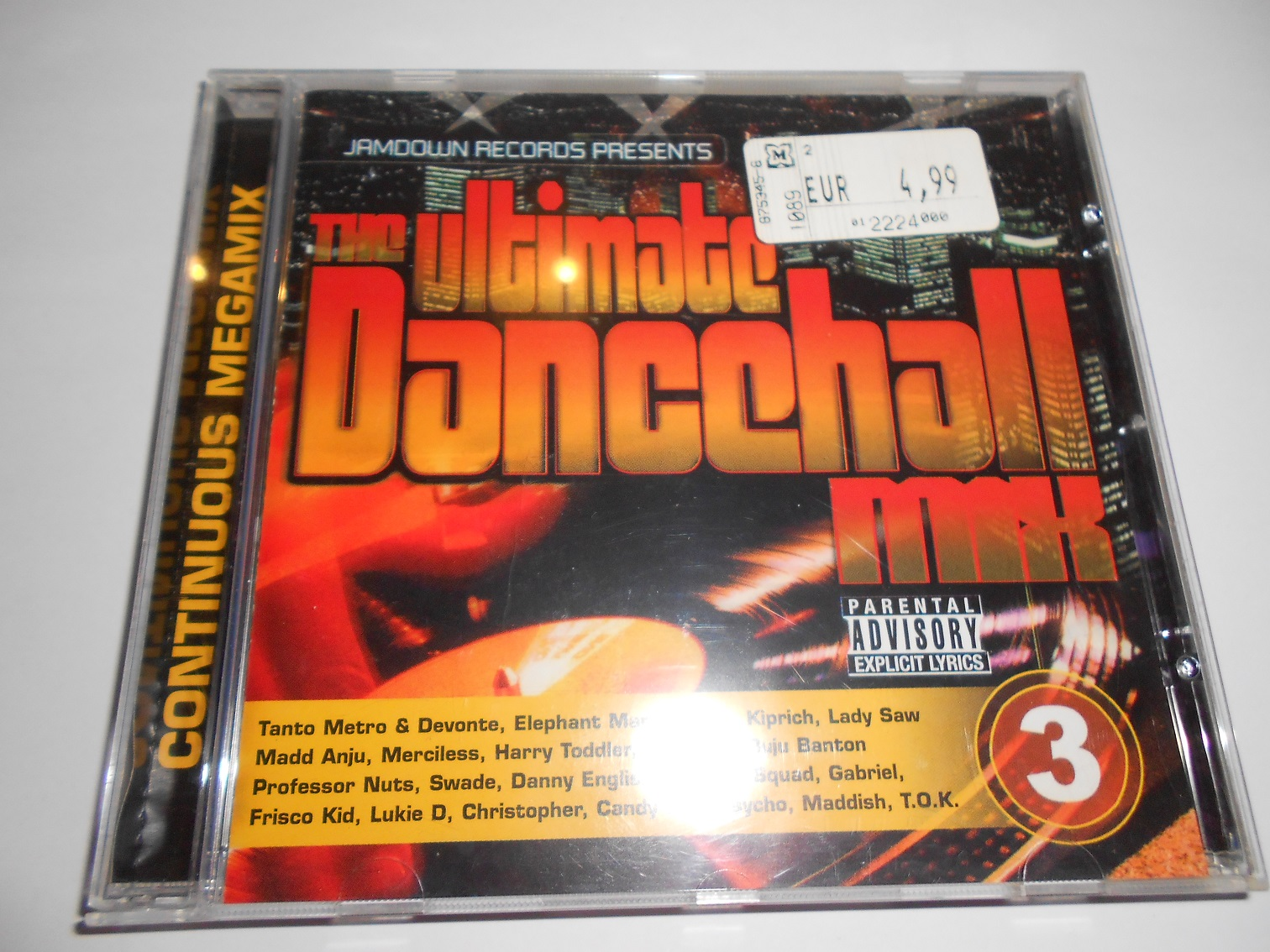 V/A - The Ultimate Dancehall Mix Vol.3 (CD)