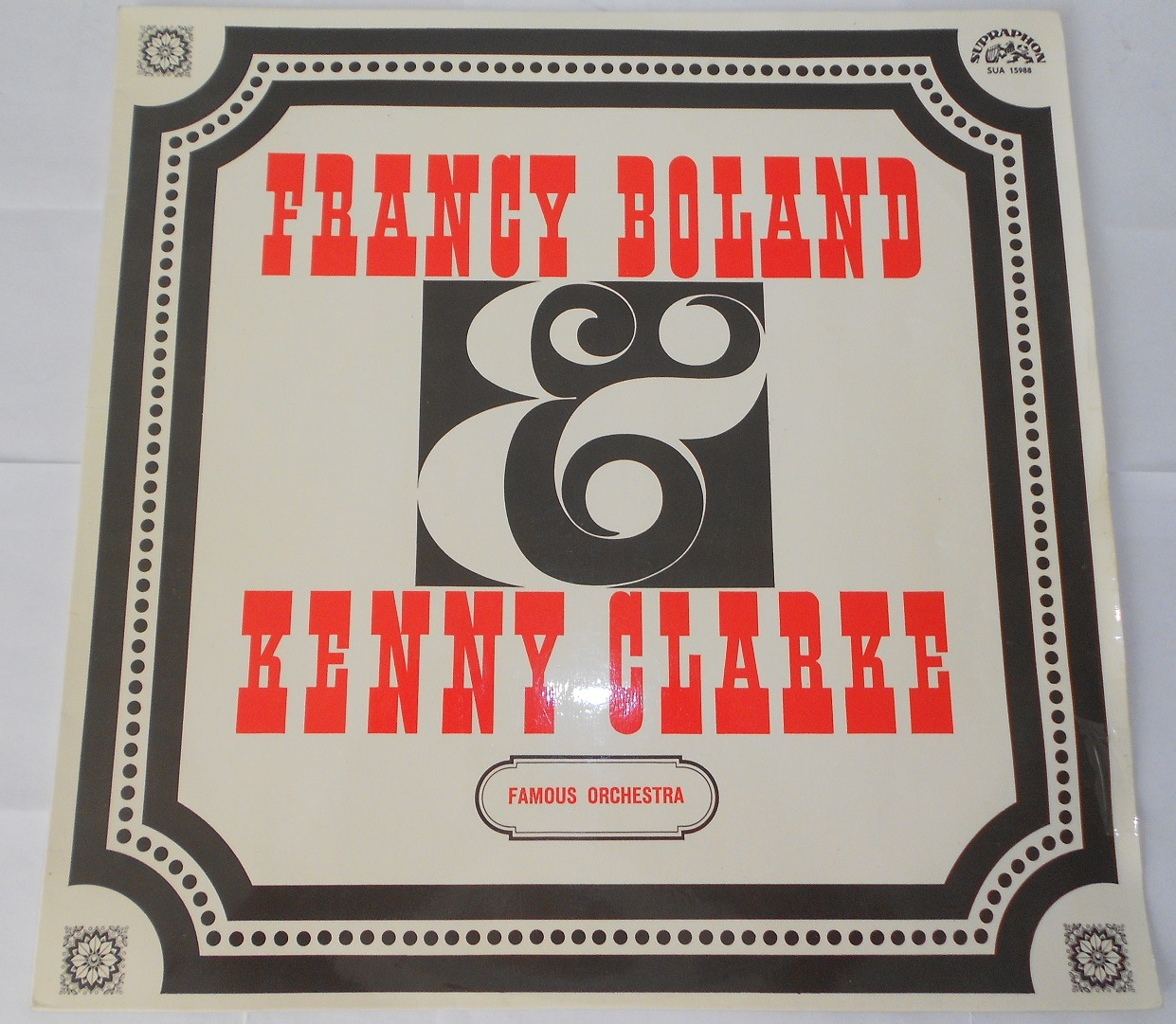 Francy Boland & Kenny Clarke Big Band - Francy Boland & Kenny Clarke Famous Orchestra (LP)