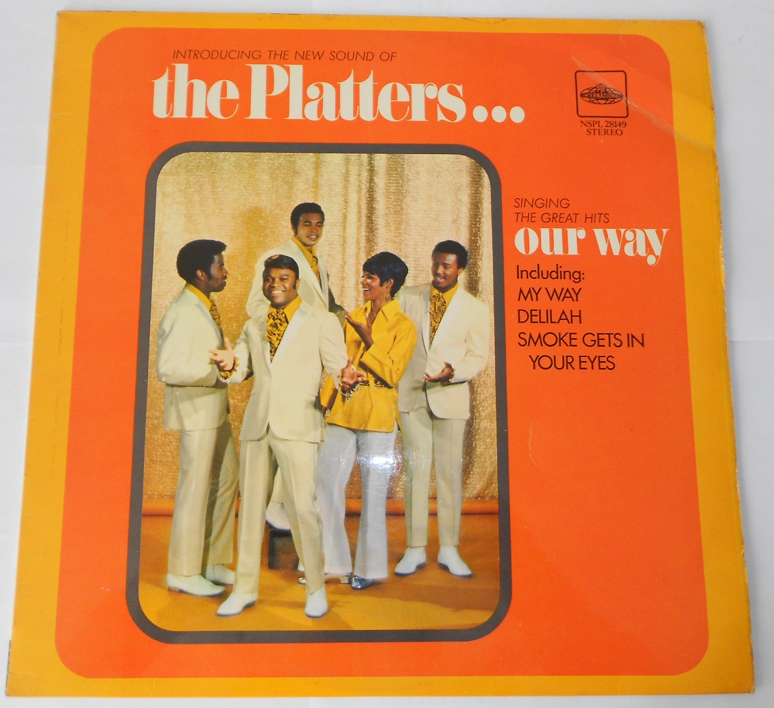 The Platters - Singing The Great Hits Our Way (LP)