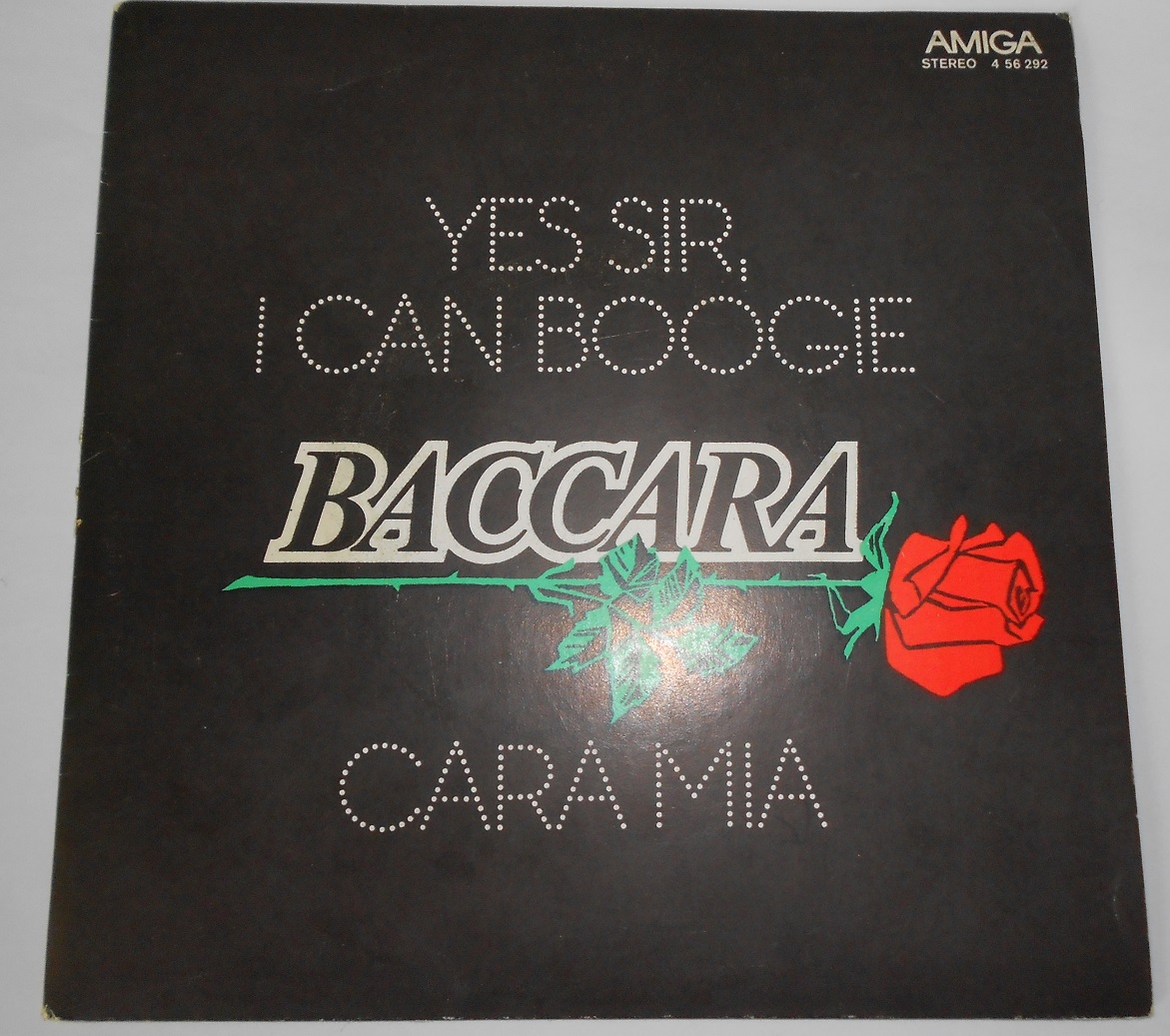 "Baccara - Yes Sir, I Can Boogie / Cara Mia (7"",Single)"