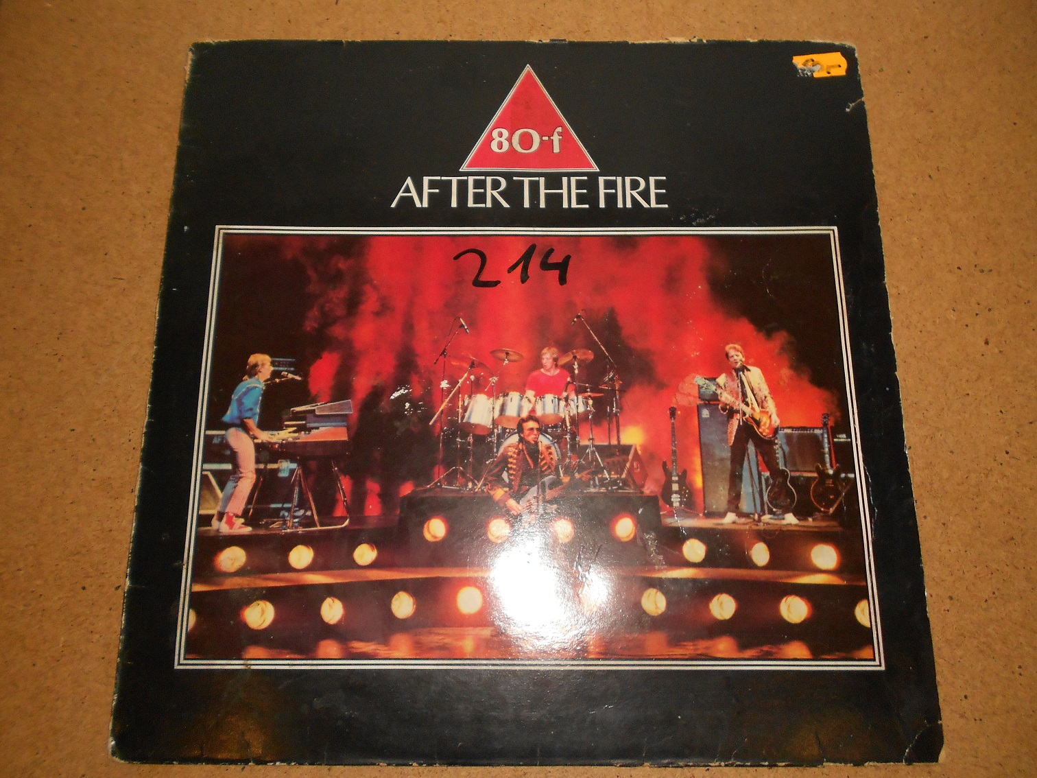 After The Fire ‎– 80-f