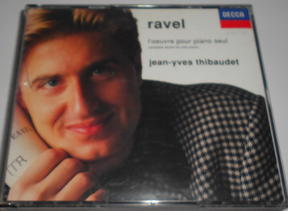 Ravel - Jean-Yves Thibaudet - L'Oeuvre Pour Piano Seul (Complete Works For Solo Piano) (CD)