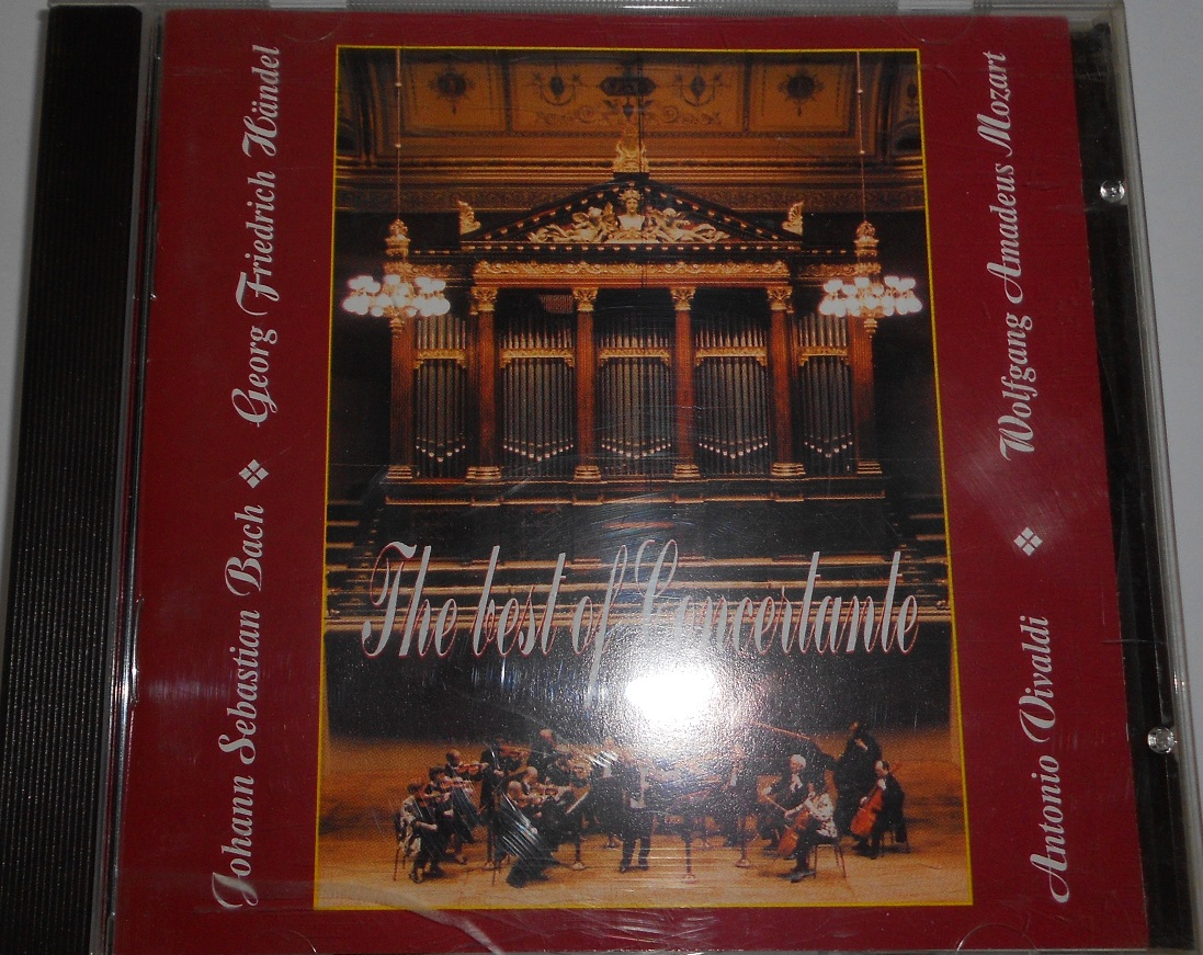 The Best Of Concertante - Vivaldi, Bach, Handel, Mozart (CD)