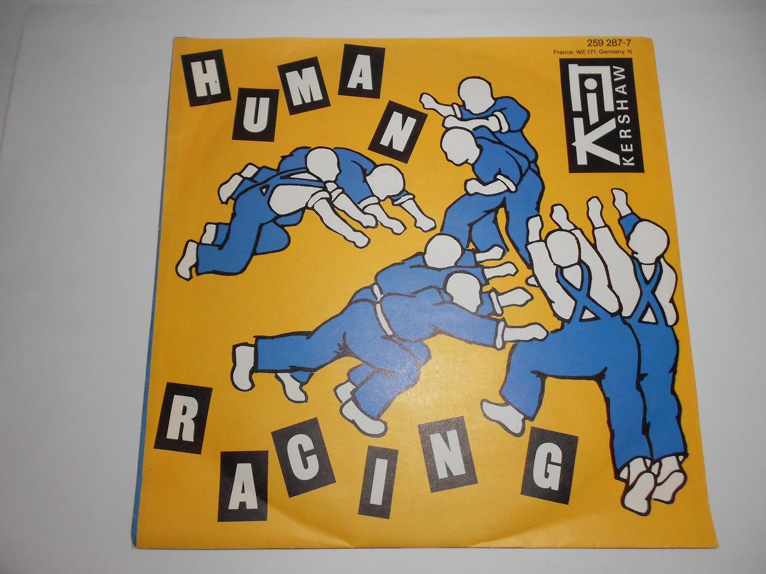 Nik Kershaw - Human Racing 7""