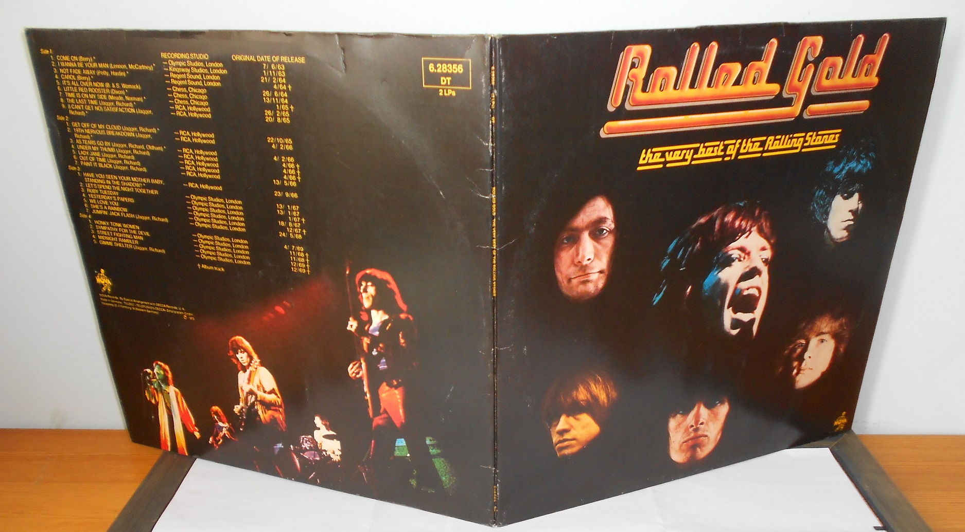 The Rolling Stones ‎– Rolled Gold (The Very Best Of The Rolling Stones) (VG++) (LP)
