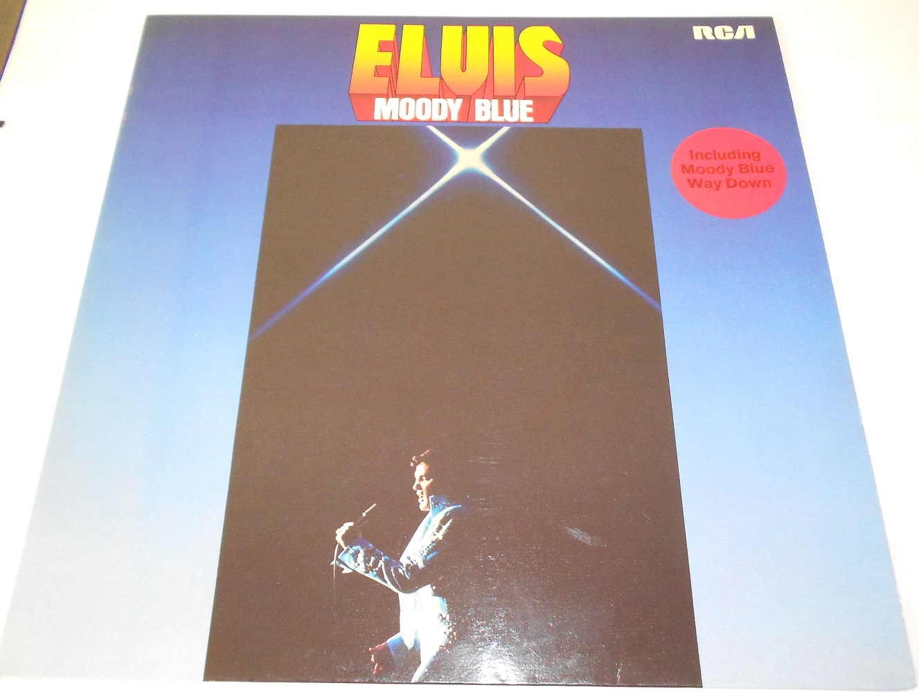 Elvis Presley - Moody Blue (LP)