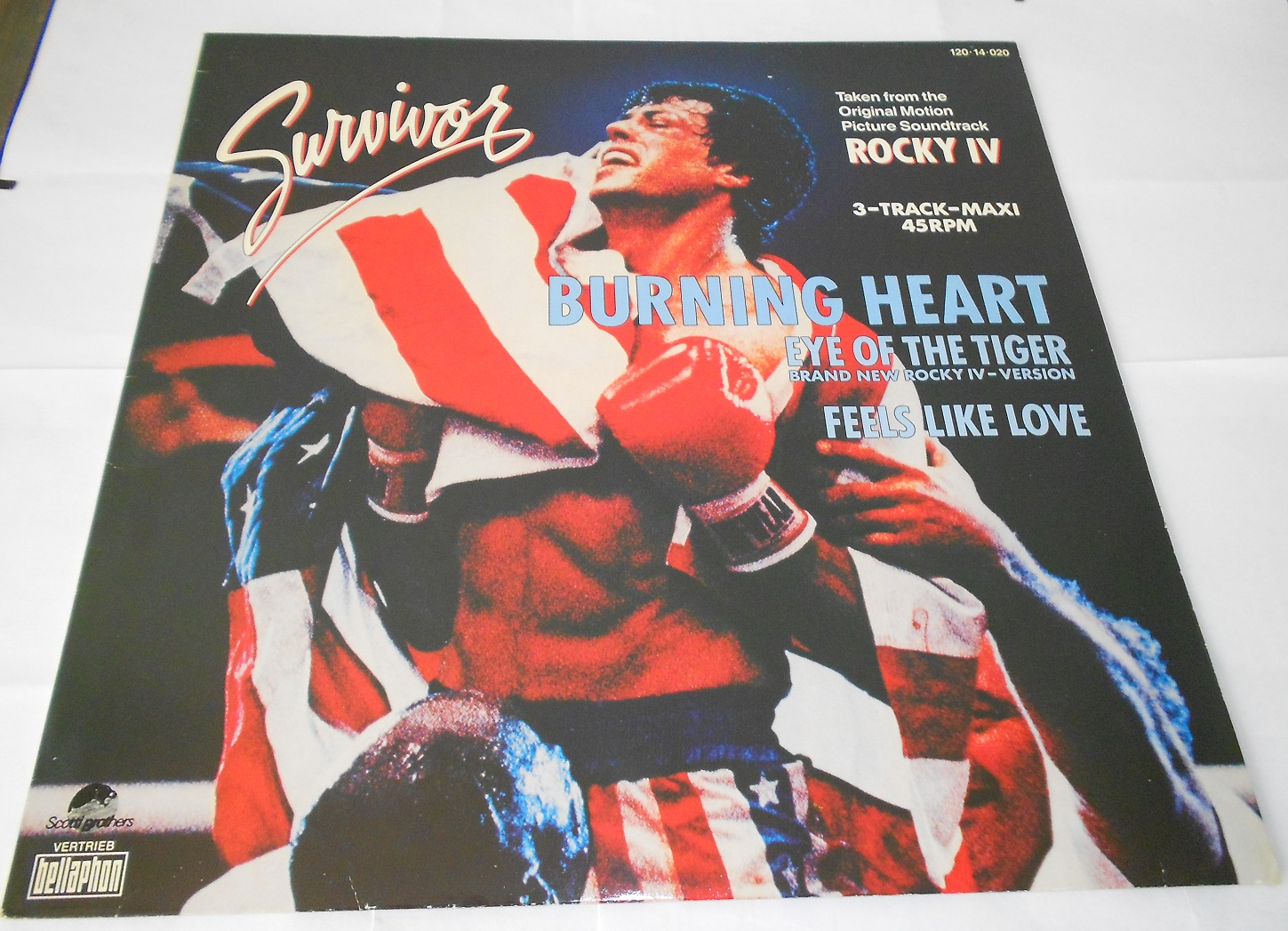 "Survivor - Burning Heart (12"")"
