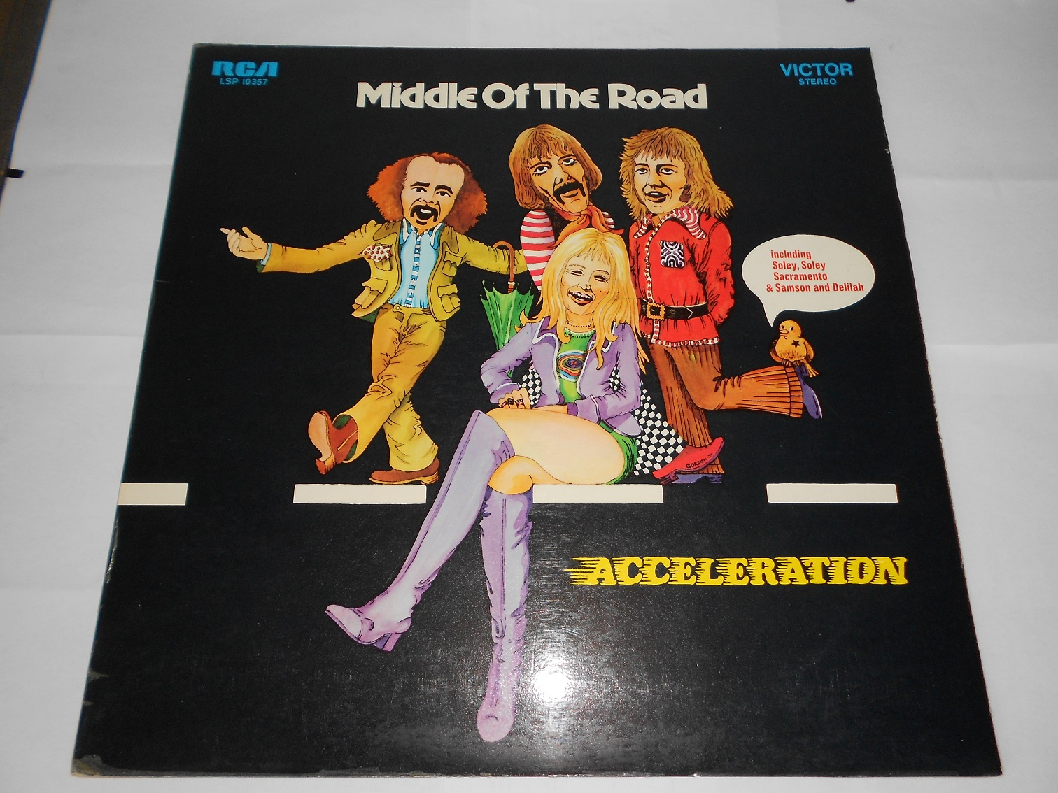 Middle Of The Road - Acceleration (LP)