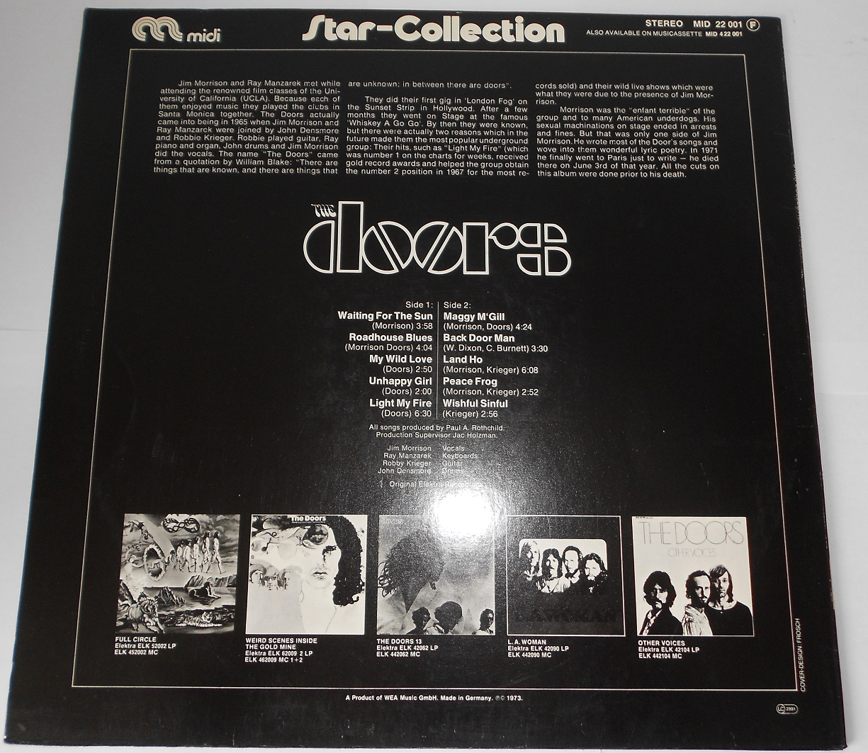 Doors - Star Collection (LP)