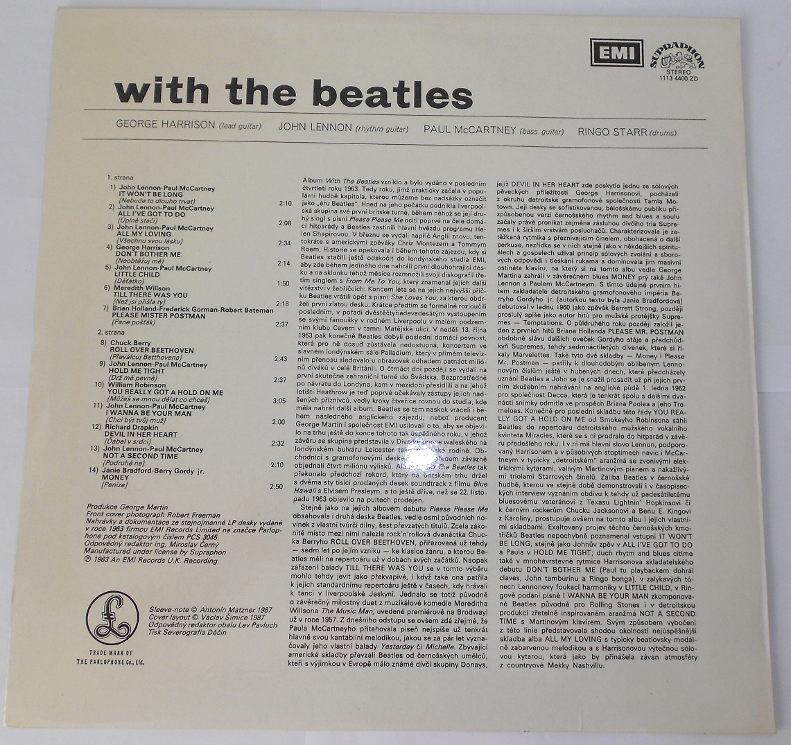 The Beatles - With The Beatles (Supr) (LP)