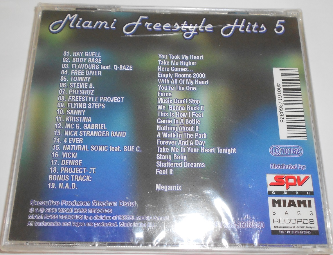 V/A - Miami Freestyle Hits 5 (CD)