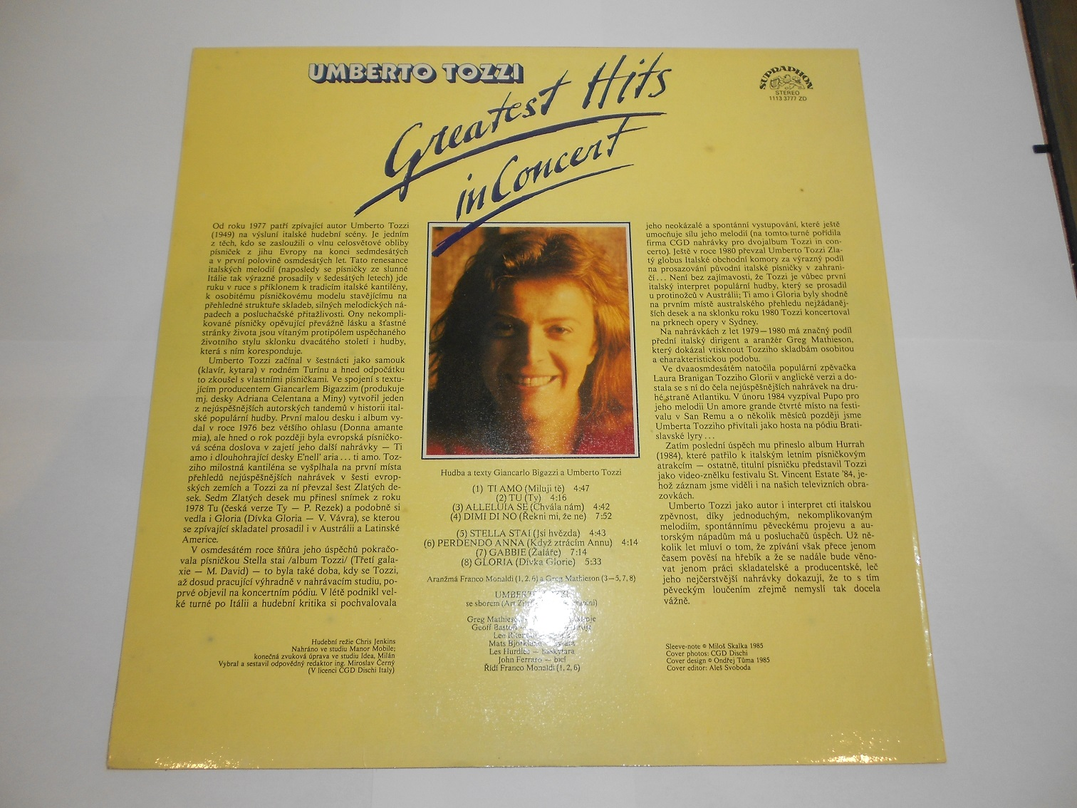 Umberto Tozzi - Greatest Hits In Concert