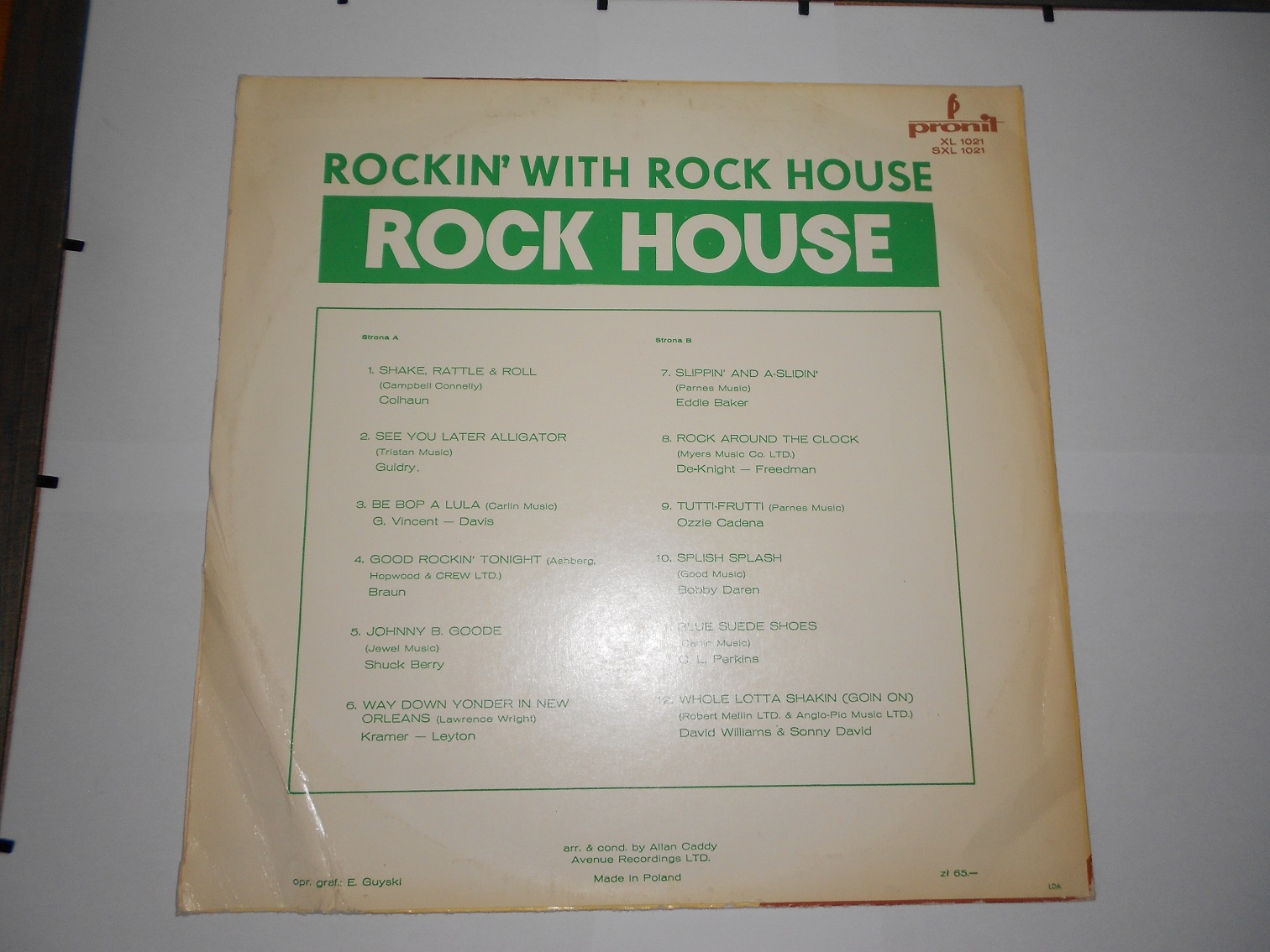 Rock House ‎– Rockin' With Rock House