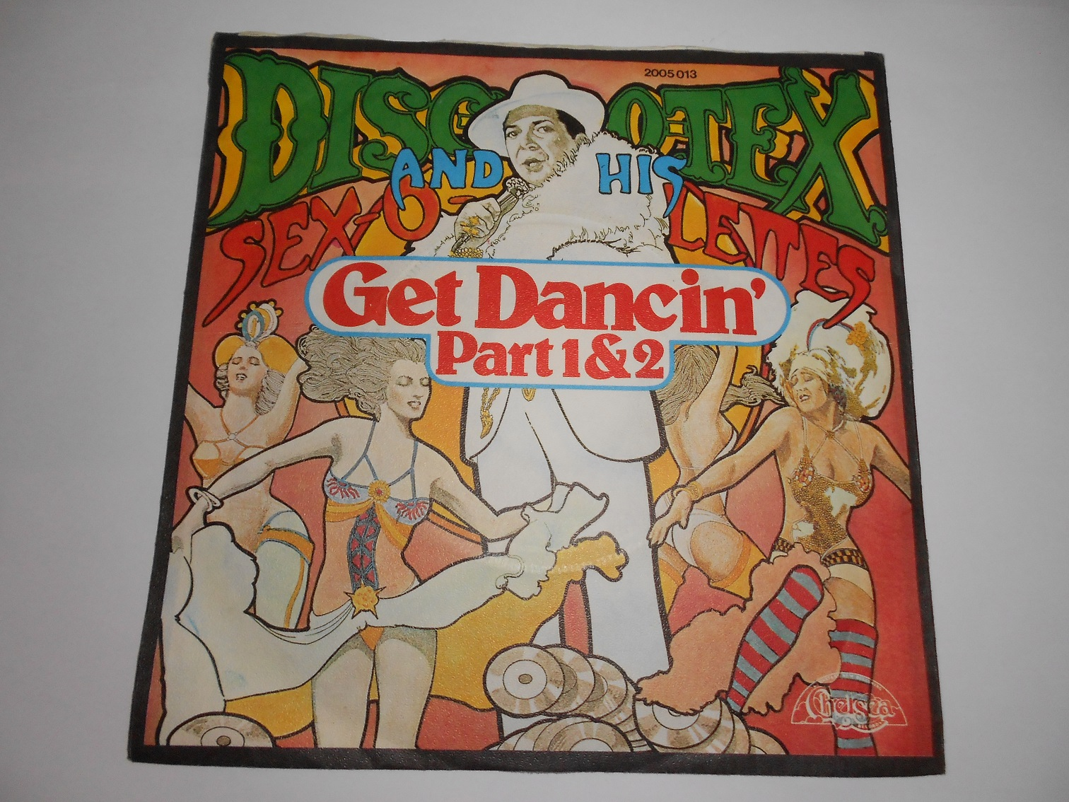 Disco Tex And His Sex-O-Lettes ‎– Get Dancin' Part 1 & 2 7""