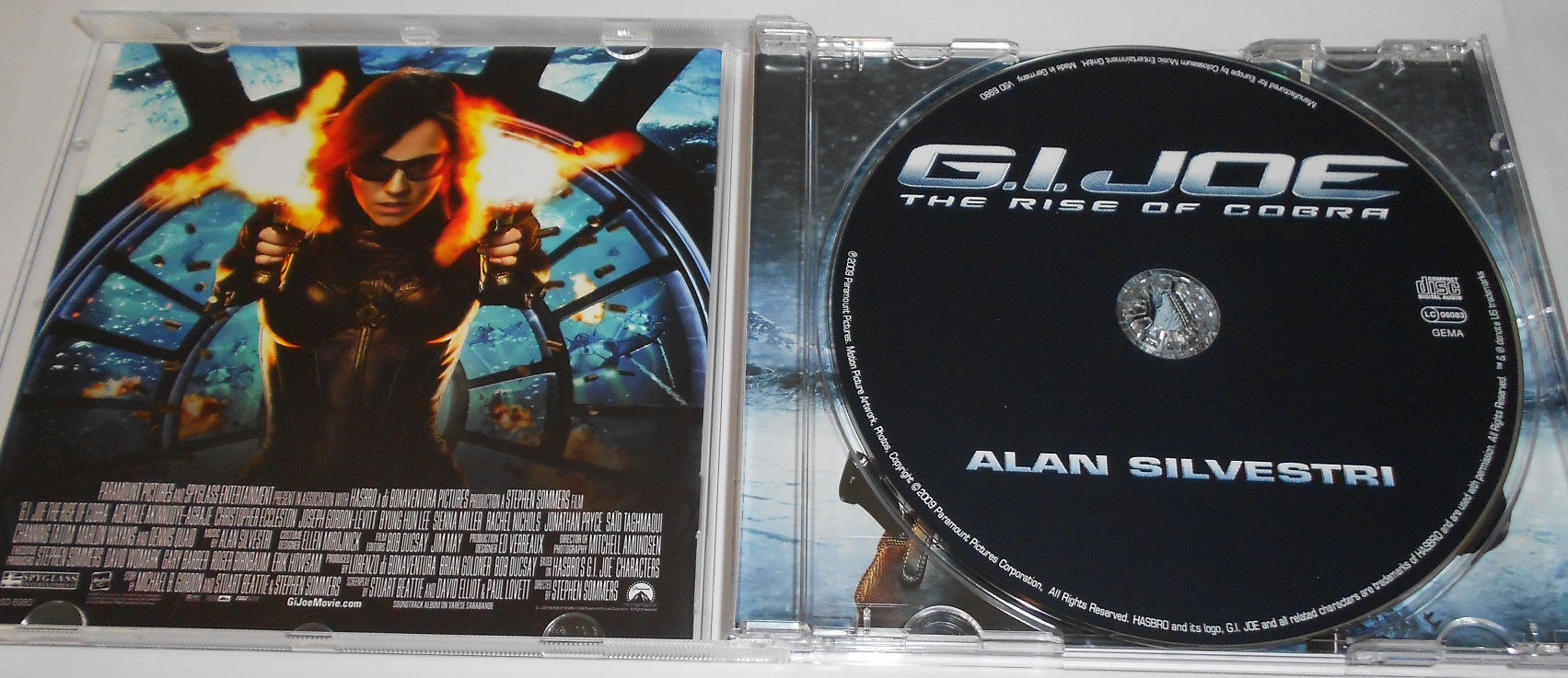 Alan Silvestri ‎– G.I. Joe: The Rise Of Cobra (Score From The Motion Picture)