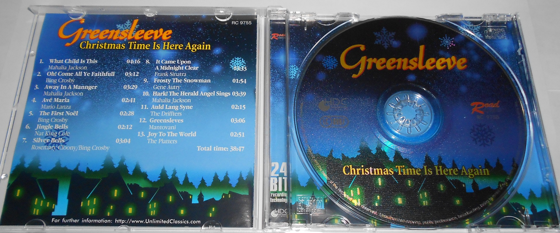 Greensleeve - Christma Time Is Here Again