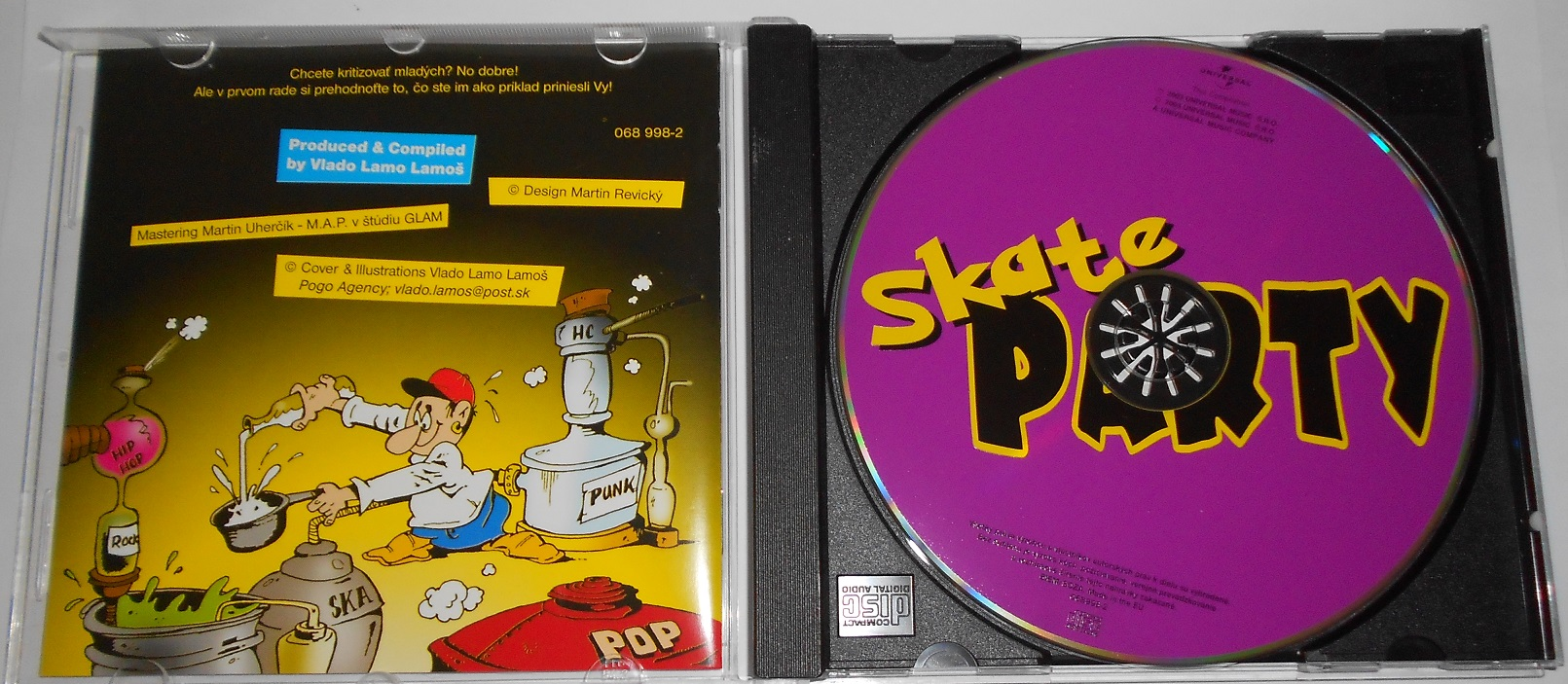 V/A - Skate Party (Iné Kafe, Hex, Nuda) (CD)