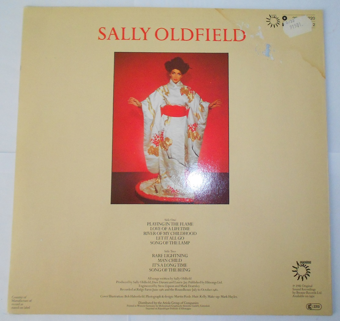 Sally Oldfield - Playing In The Flame (LP)