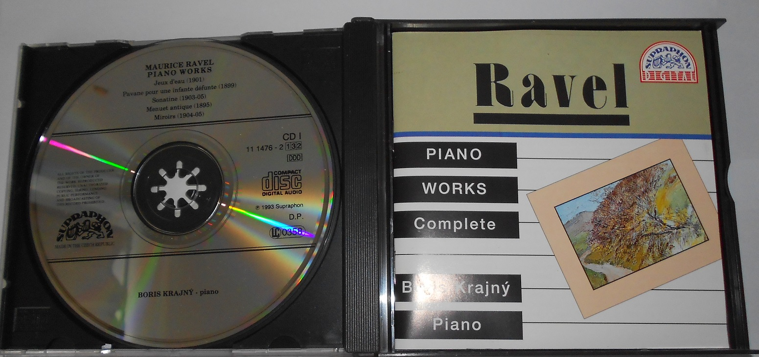 Ravel Piano Works - Boris Krajný Piano (CD)