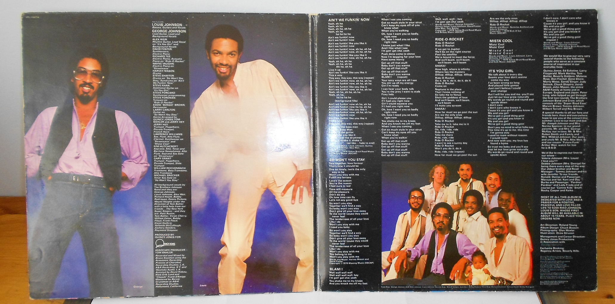 The Brothers Johnson - Blam!! (LP)