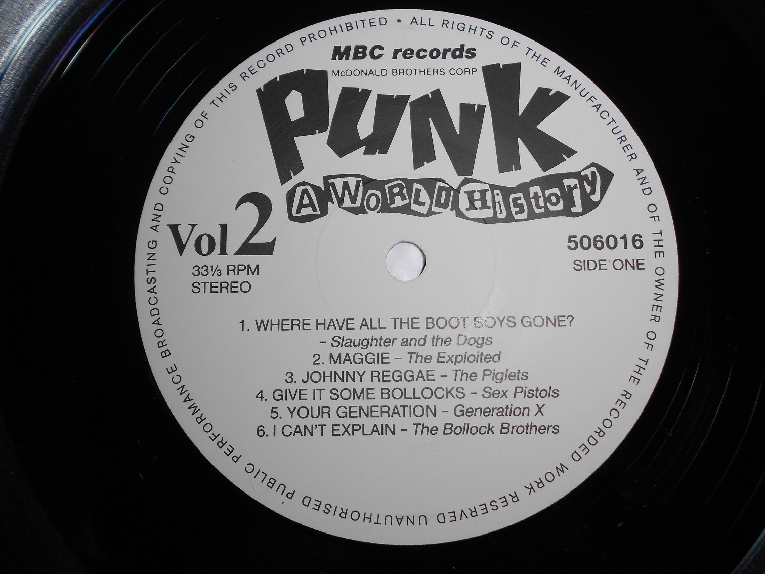 V/A - Punk - A World History Volume 2