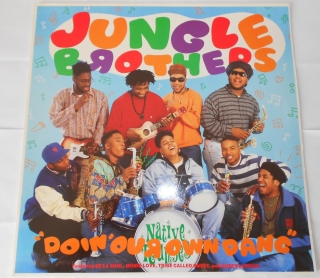 "Jungle Brothers Featuring De La Soul, Monie Love, Tribe Called Quest  And Queen Latifah - Doin' Our Own Dang (12"")"