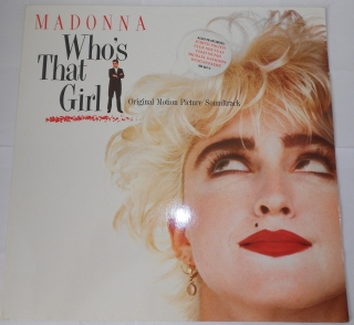 Madonna ‎– Who's That Girl (Original Motion Picture Soundtrack) (LP)
