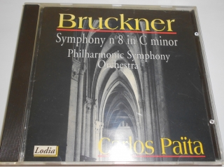Anton Bruckner / The Philharmonic Symphony Orchestra / Carlos Païta ‎– Symphony N° 8 In C Minor (CD)
