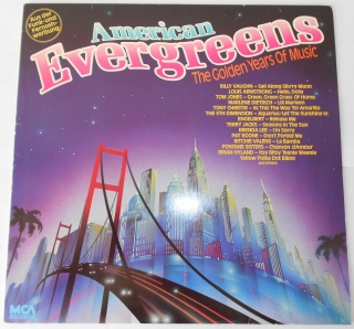V/A - American Evergreens - The Golden Years Of Music (LP)