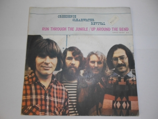 Creedence Clearwater Revival ‎– Run Through The Jungle / Up Around The Bend 7""